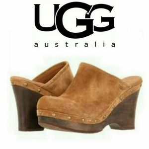 Ugg Australia Marsalis Chestnut Clogs